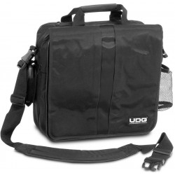 "UDG ULTIMATE COURIERBAG DELUXE 17"" BLACK/ORANGE INSIDE"