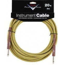 FENDER CUSTOM SHOP 6' TWEED CABLE BOWL OF 20