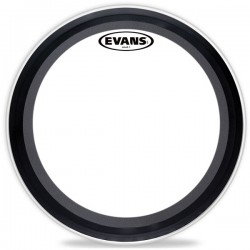 "EVANS BD22EMAD2-B 22"" EMAD2 CLEAR"