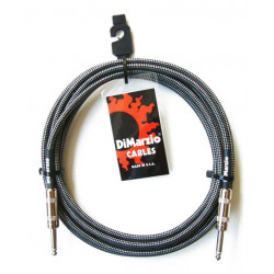 DIMARZIO EP1710SS INSTRUMENT CABLE 10ft (BLACK GREY)