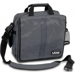 UDG ULTIMATE COURIERBAG DELUXE STEEL GREY/ORANGE U9448
