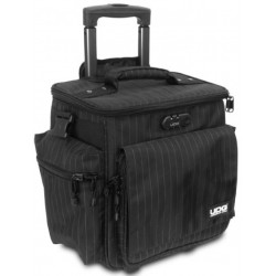 UDG ULTIMATE SLINGBAG TROLLEY SET DELUXE BLACK/GREY STRIPE