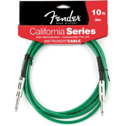 FENDER CALIFORNIA INSTRUMENT CABLE 10' SFG