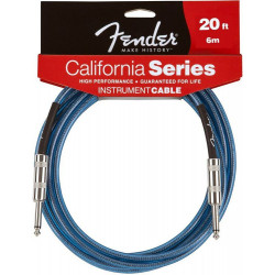 FENDER CALIFORNIA INSTRUMENT CABLE 20' LPB