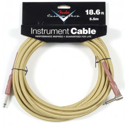 FENDER CUSTOM SHOP PERFORMANCE CABLE 18.6' ANGLED TW