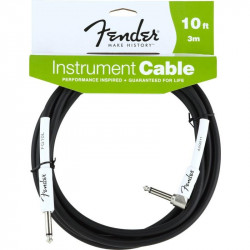 FENDER PERFORMANCE CABLE 10' BK